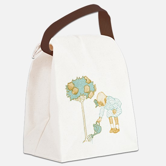 Little Gardener Canvas Lunch Bag