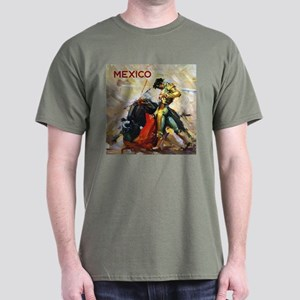 Vintage Bullfighting Dark T-Shirt