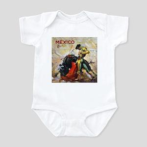 Vintage Bullfighting Infant Bodysuit