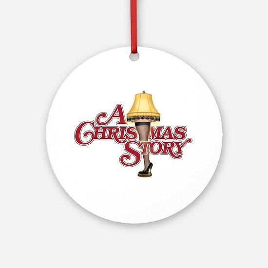 A Christmas Story Ornament (Round)