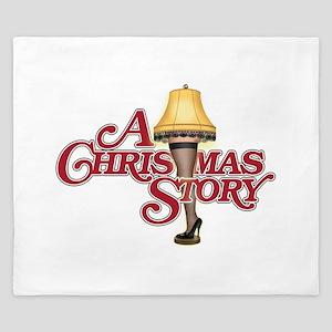 A Christmas Story King Duvet