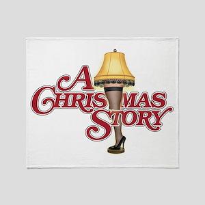 A Christmas Story Throw Blanket