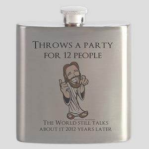 Party Jesus Flask
