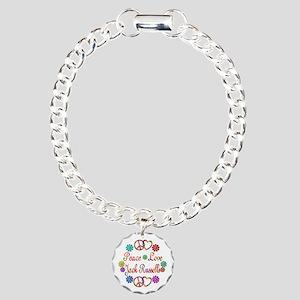 Jack Russells Charm Bracelet, One Charm