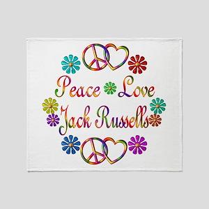 Jack Russells Throw Blanket