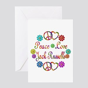 Jack Russells Greeting Card
