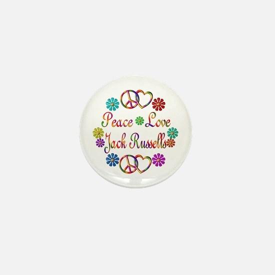 Jack Russells Mini Button