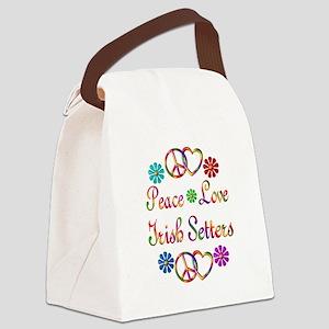 Irish Setters Canvas Lunch Bag