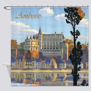 Château d'Amboise Shower Curtain