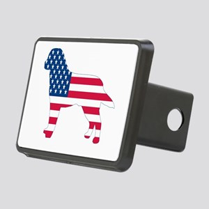 USA Labrador Rectangular Hitch Cover