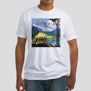 Vintage Austria Fitted T-Shirt