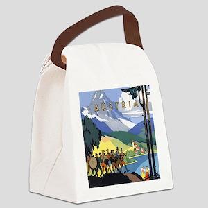 Vintage Austria Canvas Lunch Bag