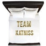 Team Katniss (Gold) King Duvet