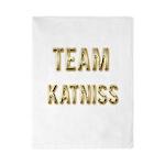 Team Katniss (Gold) Twin Duvet