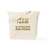 Team Katniss (Gold) Tote Bag