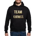 Team Katniss (Gold) Hoodie (dark)