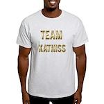 Team Katniss (Gold) Light T-Shirt