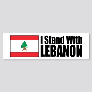 Stand With Lebanon Bumper Sticker