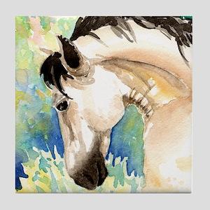 Spring Horse Tile Coaster