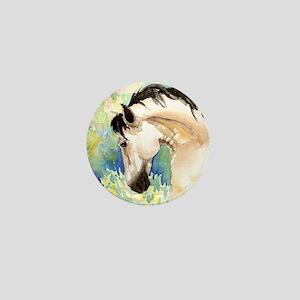 Spring Horse Mini Button