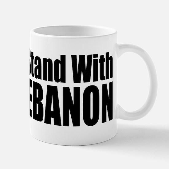 Stand With Lebanon Mug