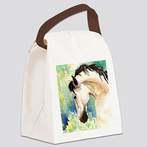 Spring Horse Canvas Lunch Bag