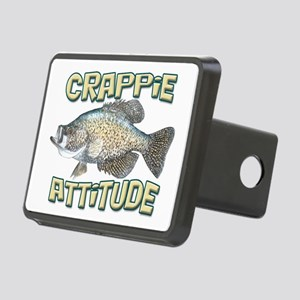 Crappie Attitude Rectangular Hitch Cover