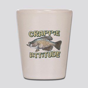 Crappie Attitude Shot Glass