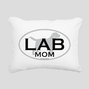 LAB MOM II Rectangular Canvas Pillow