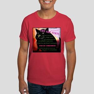 Fat Cat Stats Men's Dark T-Shirt