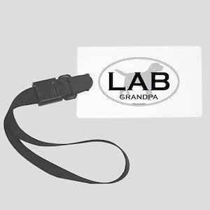 LAB GRANDPA II Large Luggage Tag