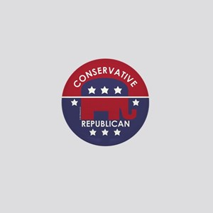 Conservative Republican Mini Button