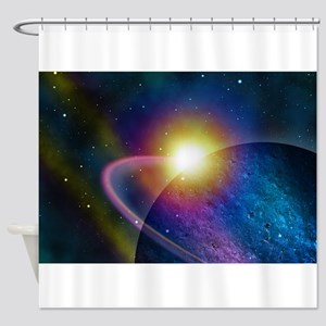 The Scope of Discovery Shower Curtain