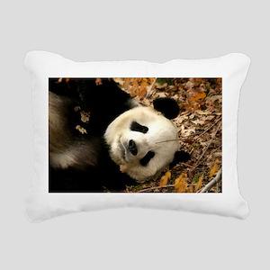 tai shan resting in leaves - horizontal Rectan