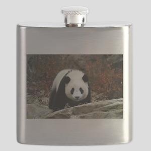 tai shan head on - horizontal Flask