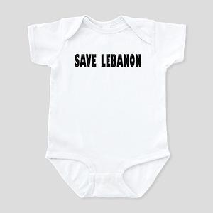 Save Lebanon Infant Creeper