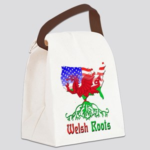American Welsh Roots Canvas Lunch Bag