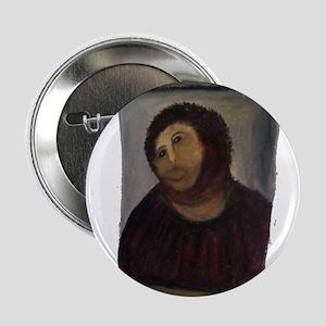 "Ecce 'Monkey Jesus' Homo 2.25"" Button"