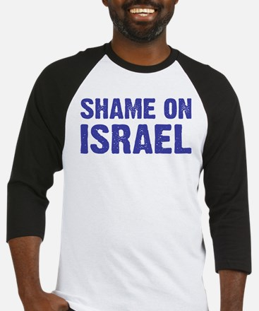 Shame on Israel Baseball Jersey