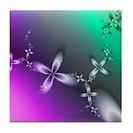 Delicate Blossoms Tile Coaster