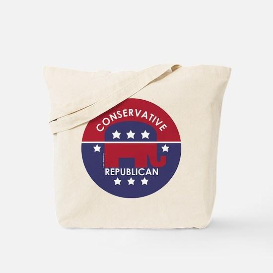 Conservative Republican (XL) Tote Bag