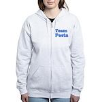 August 23 2012 Team Peeta Women's Zip Hoodie