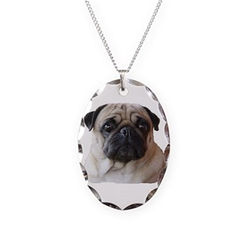 BusterBrown Necklace Oval Charm