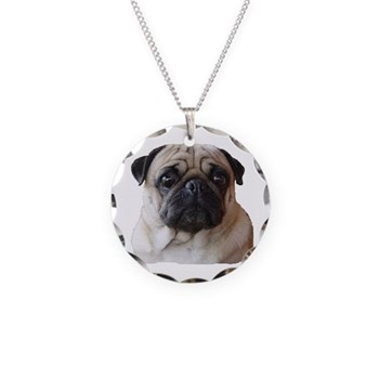 BusterBrown Necklace Circle Charm