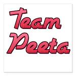 August 23 2012 Team Peeta 2 Square Car Magnet
