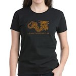 I Climb Zen Dragon Women's Dark T-Shirt