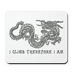 I Climb Zen Dragon Mousepad