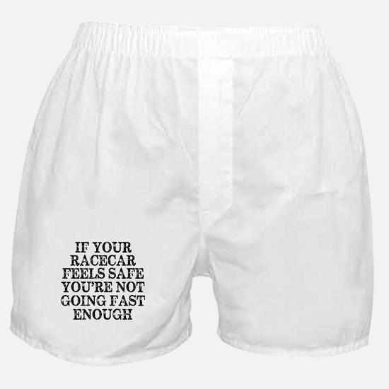 Funny Racing Saying Boxer Shorts