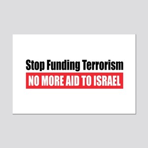 Stop Funding Mini Poster Print