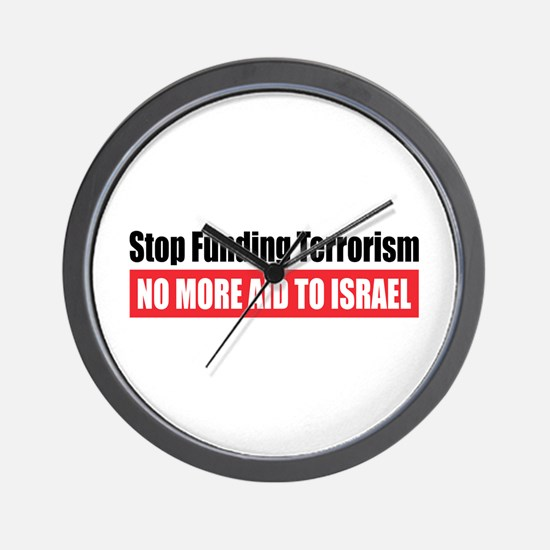 Stop Funding Wall Clock
